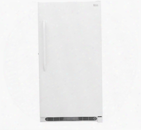 "Fffh20f2qw 34"" Upright Freezer With 20.2 Cu. Ft. Capacity Frost-free Operation Power-on Indicator Light Lock With Pop-out Key And Adjustable Temperature"