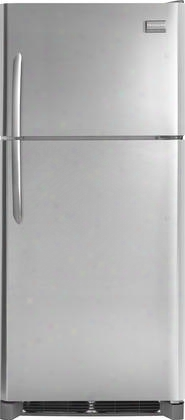 "Fghi2164qf 30"" Energy Star Certified Top-freezer Refrigerator With 20.5 Cu. Ft. Capacity Built-in Ice Maker Spillsafe Shelves Bright Led Lighting Nad"