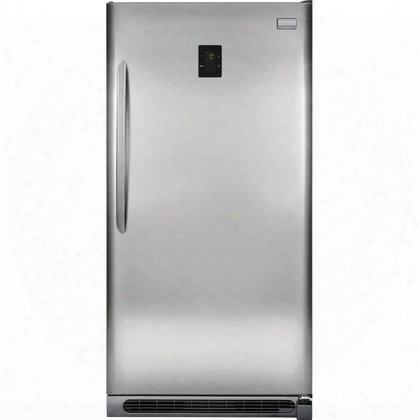 """Fgvu21f8qf 34"""" Gallery Energy Star 2-1 Upright Freezer Or Refrigerator With 20.5 Cu. Ft. Capacity. Led Lighting Adjustable Shelves And Door Bins And Door Lock"""