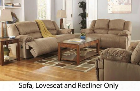 Hogan 57802kit3pc 3-piece Living Room Set With Sofa Loveseat And Recliner In