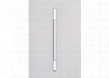 Pl Series PL30GWH Vertical Fluorescent Light Kit and Glass Shade For Use with PL Series Cabinets White End Cap Dimmable Electronic Ballast and Includes