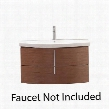 SIENA-VS36-CH Avanity Siena 36 in. Vanity with Vitreous China Top in Chestnut