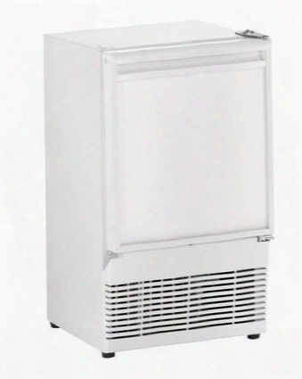 """U-bi95w-00a 14"""" Ice Maker With Energy Efficiency 23 Lbs. Of Daily Production Field Reversible Door Crescent Ice Shape And Ada Compliance In"""
