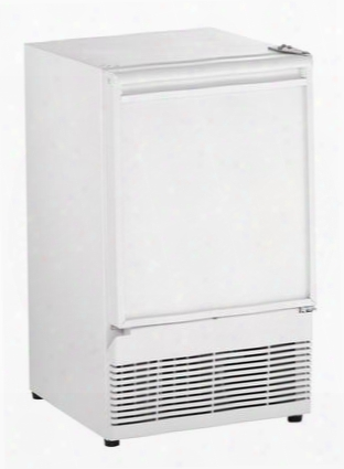 "U-bi98w-00a 15"" Ice Maker With Energy Efficiency 25 Lbs. Of Daily Production/storage Field Reversible Door Crescent Ice Shape And Ada Compliance In"