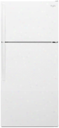 "Wrt134tfdw 28"" Energy Star Rated And Ada Compliant Top-freezer Refrigerator With 14.3 Cu. Ft. Capacity Adjustable Wire Shelves Quiet Cooling And Freezer"