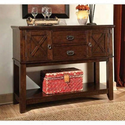 11902 Sonoma Sideboard With Two Drawers And Two