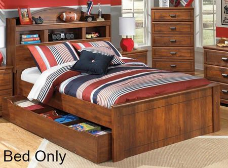 B228505263b10011 Barchan Collection Twin Size Bookcase Bed With Underbed Storage Side Roller Glides For Smooth Operating Drawers And Versatile Captions