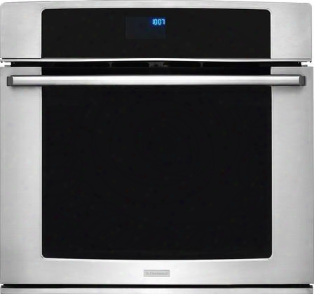 "Ew30ew55ps 30"" Electric Single Wall Oven With 4.8 Cu. Ft. Capacity Convection Perfectconvect3 System Self-clean Wave-touch Controls And Luxury-design"