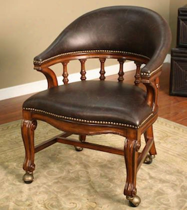 "1000775 Giovanni Gathering Chair With Full-bearing Swivel Mortise And Tenon Construction 3"" Cushion And Webbed"
