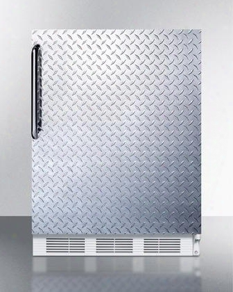 "Al650bidpl 24"" Built-in Undercounter Refrigerator-freezer With 5.1 Cu. Ft. Capacity Dual Evaporator Made In Europe Cycle Defrost Zero Degree Freezer Door"