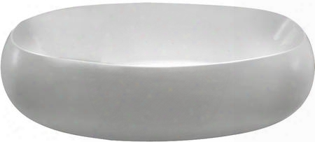 "Atfsn70wh Rochester 70"" Freestanding Acrylic Oval Bathtub With 69 Gallon Capacity No Overflow And No Faucet Holes N"