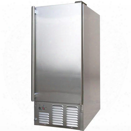 Bbq10700 Outdoor Ice Maker With 1.71 Cu. Ft. Of Storage 25 Lbs. Max Ice Storage 44 Lbs. Per Day Capacity Built-in Make Dry Plug And Removable Ice Storage Bin