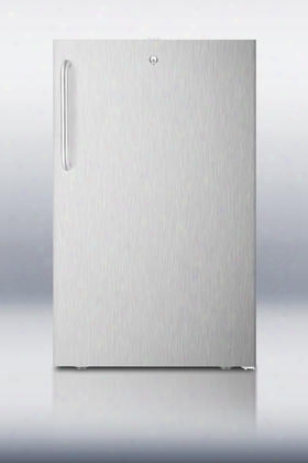 Ff511lcssada 4.1 Cu. Ft. Ada Compliant Compact All-refrigerator With Automaticd Efrost Adjustable Shelves Crisper Drawer Interior Light And Adjustable