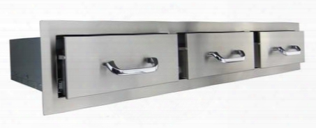 "Rhr3 47.85"" Stainless Steel Triple"