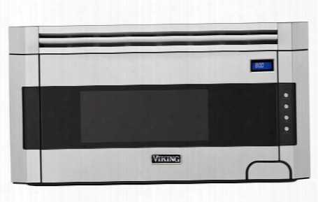 """Rvmh330ss 30"""" Over-the-range Microwave With 1.5 Cu. Ft. Capacity 300 Cfm Blower Built-in Exhaust System And Child Safety Lock In Stainless"""