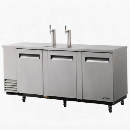 Tbd4sd 4 Keg Beer Dispenser With Forced Cooling System Incandescent Interior Lighting Efficient Refrigeration System High Density Pu Insulation And