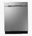 "DW80H9970US 24"" Chef Collection Fully Integrated Dishwasher with 40 dBA Operation Waterwall System Third Rack with Flextray Zone Boost Half-Load Cycle and"
