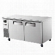 JUF60 15 cu. ft. J Series Undercounter Freezer with Efficient Refrigeration System Side Mount Compressor Adjustable Shelves and High Density PU Insulation: