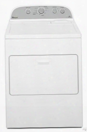 """Wed49stbw 29"""" Electric Dryer With 7 Cu. Ft. Capacity 13 Cycles 3 Temperature Settings Normal Cycle Hamper Door And Interior Drum Light In"""