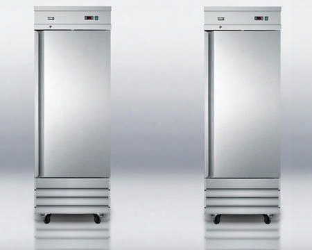 "2-piece Stainless Steel Package With Scrr230 29"" All-refrigerator And Scff235 29"