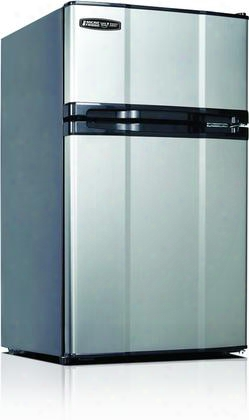 """3.1mf4rs 19"""" Energy Star Compact Refrigerator With 3.1 Cu. Ft. Capacity Freezer Compartment Interior Lighting Smart Store Door And Safe Plug Technology In"""