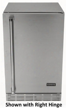 "Cbir-l 20"" Freestanding / Built-in Outdoor Refrigerator With 4.1 Cu. Ft. Capacity Automatic Defrost Interior Light Adjustable Thermostat Left Hinge And"