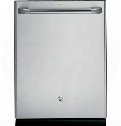"Cdt765ssfss 24"" Built-in Dishwasher With 16 Place Settings 7 Wash Cycles 11 Options 40 Dba Stainless Steel Interior Adjustable Upper Racck And Energy Star"