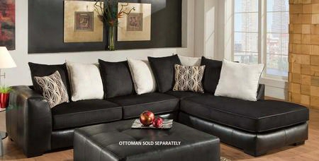 Grant Collection 75e348-6167-se 2-piece Sectional Sofa With Left Arm Facing Sofa And Right Arm Facing Chaise In