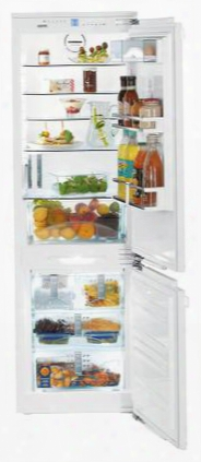 "Hc1070 24"" Star K Fully Integrated Bottom Freezer Refrigerator With 9.32 Cu. Ft. Capacity. Supercool Superfrost Nofrost And No Plumbing Icemaker: Panel"