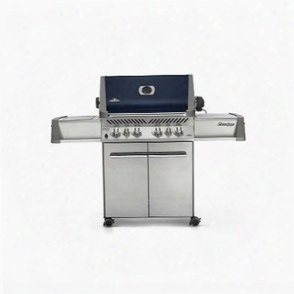 P500rsibbnb-a Prestige Natural Gas Grill With Up To 78 500 Btus 6 Burners 900 Sq. In. Cooking Area Lift Ease Rotisserie Kit And Infrared Sizzle Zone Side
