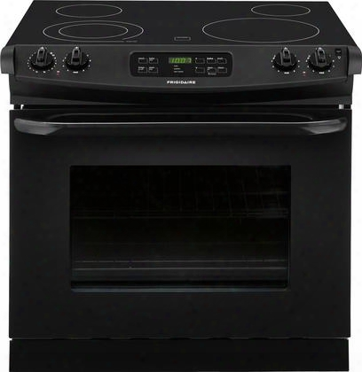 "Ffed3025pb Ada Compliant 30"" Freestanding Drop-in Electric Range Featuring Large Capacity Spacewise Expandable Elements Ready-select Controls And Power"