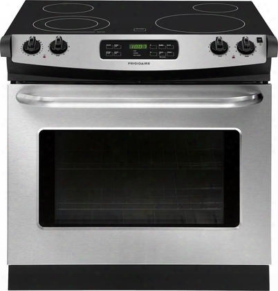 """Ffed3025ps Ada Compliant 30"""" Freestanding Drop-in Electric Range Featuring Large Capqcity Spacewise Expandable Element Ready-select Controls And Power"""