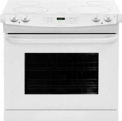 "Ffed3025pw Ada Compliant 30"" Freestanding Drop-in Electric Range Featuring Large Capacity Spacewise Expandable Elements Ready-select Controls And Power"