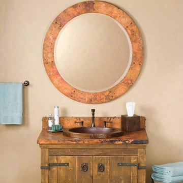 Cpm90 Tuscany Round Mirror In