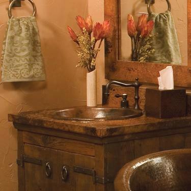 Cps240 Rolled Classic Copper Bath Sink In
