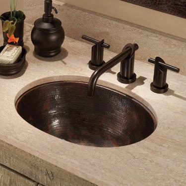 Cps248 Cameo Copper Bath Sink In