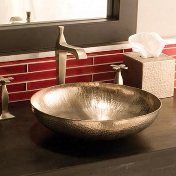Cps583 Maestro Sonata Petit Copper Bath Sink In Brushed