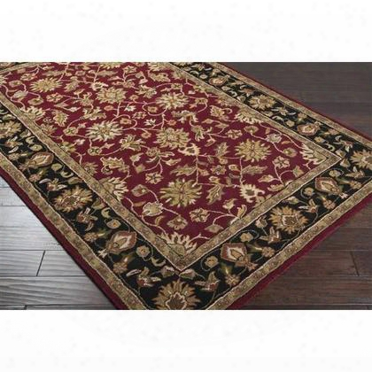 Crn6013-58 Hand-tufted 100% Wool Plush Pile Rug Made In India In