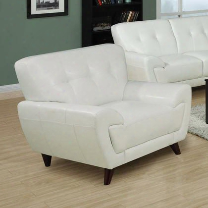 I 8801wh Chair - White Bonded