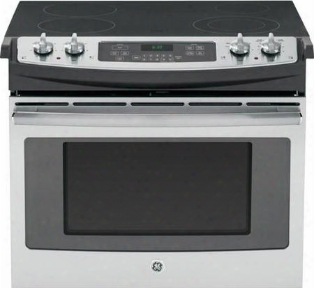 "Jd630sfss 30"" Drop In Electric Range With Flush Appearance Big View Oven Window Glass Door And Sel-fclean In Stainless"