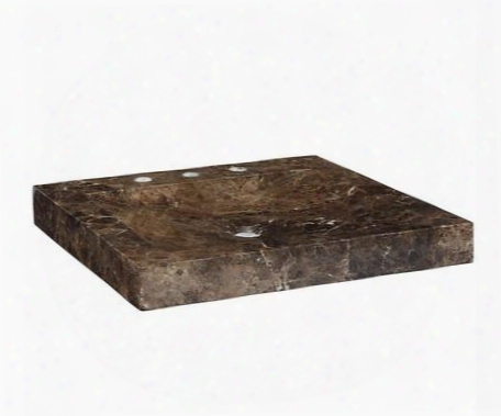 Svt300de 30-1/8 In. Dark Emperador Marble Vanity Top With Integrated Marble Stone
