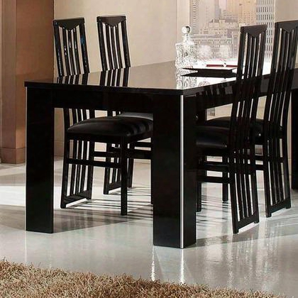 "Vgaccelitedt Elite Collection Modern Lacquer 63"" Dining Table In"
