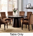 "Havana Collection CM3849T-TABLE 60"" Round Dining Table with Contemporary Style and Bold and Sturdy Table Base in"