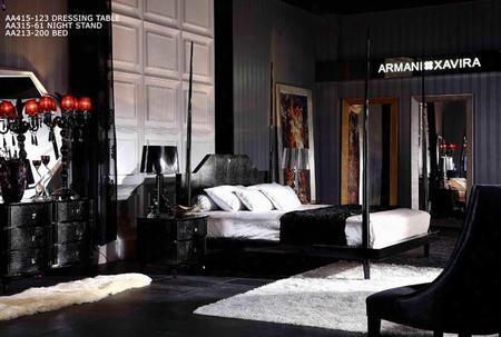 Aw213-200k Armani Xavira Gothic Four-poster Bed