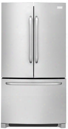 Ffhn2740ps 36&quot ;french Door Refrigerator With 27.6 Cu. Ft. Capacity Effortless Glide Freezer Drawers Sliding Spillsafe Glass Shelves And Freezer Basket With