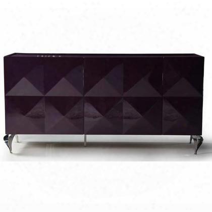 Ls504a-p Eva Lacquer 3-door Dresser: