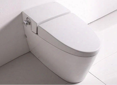 """Tb340 Ultra Low Single Flush Eco-friendly Ceramic Toilet With Porcelain Large 2"""" Fully Glazed Trap Balanced Water Distribution Powerful And Efficient 3"""