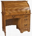 365-202 Brown Rolltop Desk