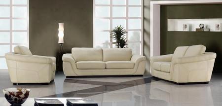 Vg2t0710hl Modern 3 Piece Leatherleather Match Living Room Set: