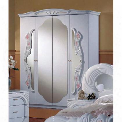 Vgaccvanity4darm Vanity Collection Italian Classic 4-door Wardrobe: